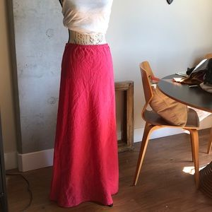 Bryn Walker Linen Maxi Skirt